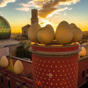 Figueras et son célèbre Musée Dalí