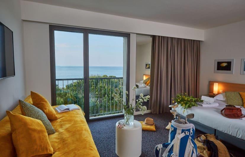 CHAMBRE PRESTIGE COLLIOURE - ARGELES | Grand Hôtel du Golfe ***
