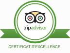 logo trip advisor hotel st cyprien